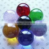 wholesale seven color crystal ball, crystal Sphere for Business Gifts CB002                                                                         Quality Choice