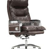 Ergonomic style High Back leather office chair brown vintage leather chair GZH-CK0079