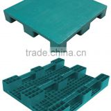 Tricer 3 Runners EMS 1010 FT Flat top warehouse Plastic Pallet 1010 FT ( plastic pallet factory )