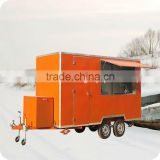 2013 Competitive Price Square Mobile Milk Ice-cream Cargo Food Transport Trucks XR-FV400 A