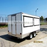 square mobile hot dog food trailer used XR-FV390 A                                                                                                         Supplier's Choice