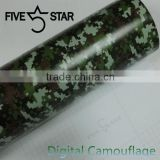 camouflage car body vinyl wrap / camouflage car wrapping foil / vinyl car wrap camouflage