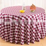 High Quality Table Cloth Polyester Cotton Material Fabric Printed Table Cloth Designs for Wedding Table Cloth