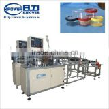 Automatic ultrasonic side glue cylinder box forming machine for transparent PVC for candy chocolate package tube making machine
