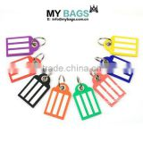 Keychain Luggage Tags design keychain Extra Wide Lines Ultra Durable PVC Pack of 8 pvc keychain