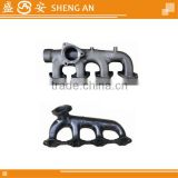 Exhaust pipe exhaust tube casted exhaust manifold manifold exhaust pipe for isuzu truck OEM8-94394753-1
