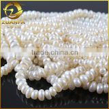 loose white round freshwater natural cheap cultivated baroque pearl