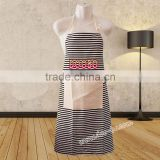 custom-made apron promotional custom printed apron fabric for wholesale with high quality