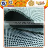 3d sandwich design breathable cool mesh seat cover fabric