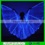 2015 fashion luminous belly dance light up fairy isis led wings