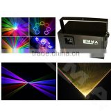 Wholesale 3500mW Rgb Laser Light Show Laser Disco Pub Bar KTV With Remote Control DJ Lighting Effects Free Shipping