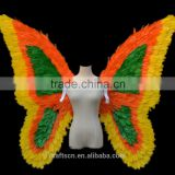 party costume feather wings made of turkey feathers