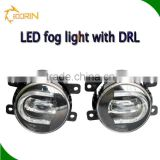 Inovative fog headlamp car front drl driving light 3.5'' fog headlamp car fog lights led fog light toyota hilux toyota hiace