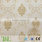 Vinyl wallpaper for hotel decoration from China factory