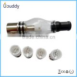 Hot selling Youtech atomizer Glass tank atomizer glass dome globe rig set vapor globe atomizer