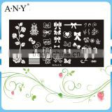 Nail Art DIY Beauty Design Stainless Metal Nail Stamping Image Plate