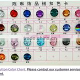 ChenLin acrylic stones card chart for fashion decoration, craft making, garment bags accessories