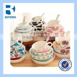 porcelain dinnerware set,ceramic Children tableware,kid dinner set