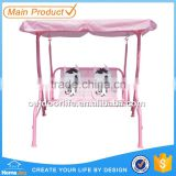 ... Outdoor Kids Patio Swing Chair, Double Seat Swing Chair For Children