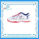 Cheap cotton fabric lining tennis shoes latest professional tennis shoes athletic sports shoes for wholesale