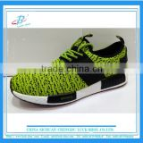 Fashion bright color unisex sneakers OEM brand latest sneakers Flyknit sports shoes Autumn and Spring