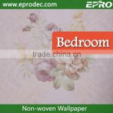 Chinoiserie non-woven material Administration wall fashion wallpaper for Tv sofa background wall