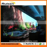 HD Cheap led video wall price pro indoor P4 P5 curtain dance floor cortina de led wall bord church concert p6 led screen