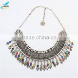 Fashion Woven Street Snap Retro Bohemian Necklace For Women Multicolor Chokers Necklace Gift Statement Necklace