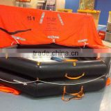 20 person cheap throw-overboard self inflating life raft