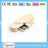 Factory produce wood usb stick 64gb;promotional gift item wood usb memory;oem logo design maple wood flash drive