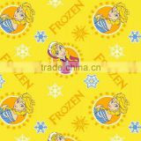 stock A grade cotton reactive flannel fabric for new born baby cloth