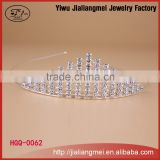 Fashion Custom Ballet Metal mini rhinestone ballet tiaras and crown for women