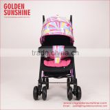 Portable baby umbrella stroller/baby carriage/pram/baby carrier/pushchair with full canopy