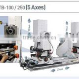 cnc 5 axis woodworking machine double end tenoner