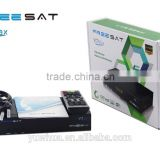 android satellite receiver android dvb s2 Freesat V7 Max indian channels set top box with hd output