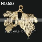 yiwu metal leaf garment accessories and trims--683