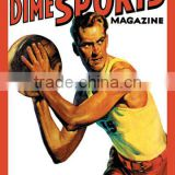 Dime Sports Magazine: Basketball 20x30 poster