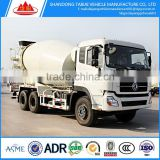 5 cubic meters Dongfeng/SHAANXI 6*4 concrete mixer truck for sale