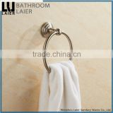 15132 new design stainless steel 304 brush nickel bathroom accessory towel ring