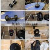 professional 5KG 10KG 15KG 20KG 25KG 30KG 35KG 40KG 50KG 55KG 60KG fixed rubber dumbbell weight set