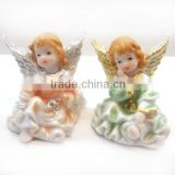 polyresin Thinking angel,Polyresin thinking baby girl angel cute little baby girl angel for gift or decoration