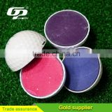 Double Layer Unsinkable Floating Golf Ball for Hit Water Practice