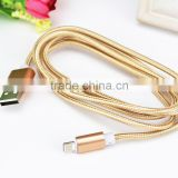 Pure color weaved USB Cable 104 copper lines Micro USB Cable Fast charge Micro USB Data Cable