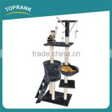 Wholesale pet toy Cat Scratcher Tree house, soft cat tree for large cats