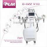 Vascular Removal B-022V10 7in 1 Multifunction Vacuumm Painless Cavitation System Beauty Equipment For Beauty Spa Salon
