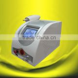 Wholesale price good quality!! active q switch nd yag laser1064nm 532nm laser gun tattoo removal machine