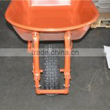 Heavy duty power plastic wheelbarrow with 6.50-8 wheel
