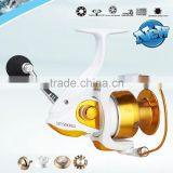 SE 1000-6000A Wholsale White color Fishing aluminium spool reel