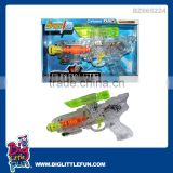 Plastic gun toys,child toy gun with light and infrared