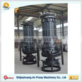 High Chrome Cast Iron 380V portable high volume low pressure submersible sand dredging pump